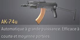COD4 : Modern Warfare premier du nom! [2007] AK-74u