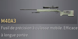 COD4 : Modern Warfare premier du nom! [2007] M40A3